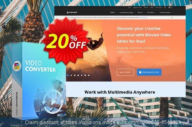 Movavi Video Converter Premium 대단하다  세일  스크린 샷
