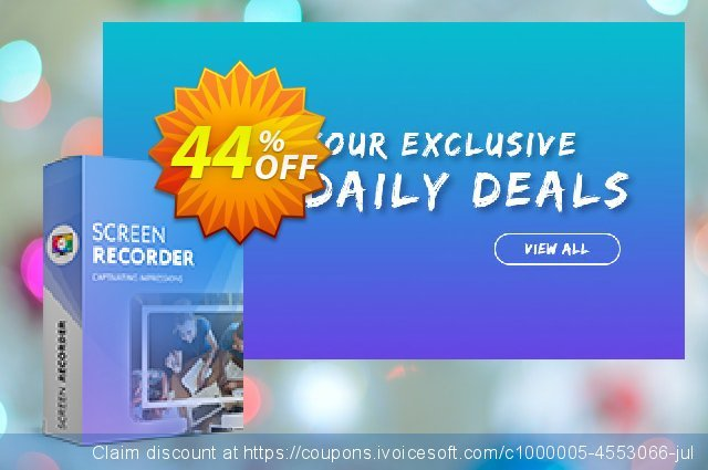 Movavi Screen Recorder discount 32% OFF, 2020 January offering sales