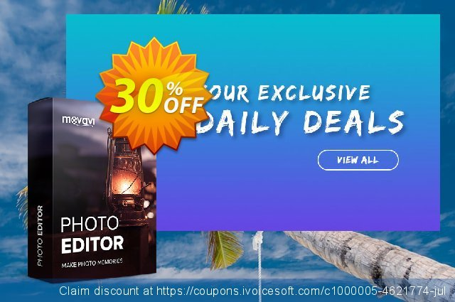 Movavi Photo Editor discount 15% OFF, 2019 Halloween offering deals