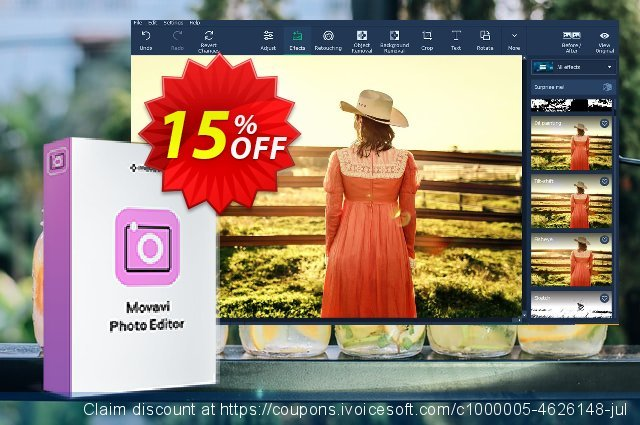 Movavi Photo Editor for Mac (Business License)  멋있어요   프로모션  스크린 샷