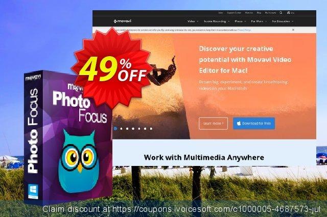 Movavi Photo Focus 可怕的 产品折扣 软件截图