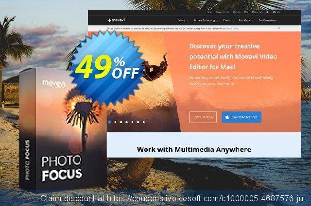 Movavi Photo Focus for Mac  특별한   촉진  스크린 샷