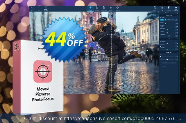 Movavi Photo Focus for Mac discount 44% OFF, 2020 Black Friday offering sales