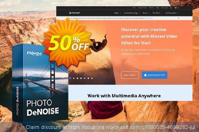 Movavi Photo DeNoise for Mac 令人敬畏的 产品销售 软件截图