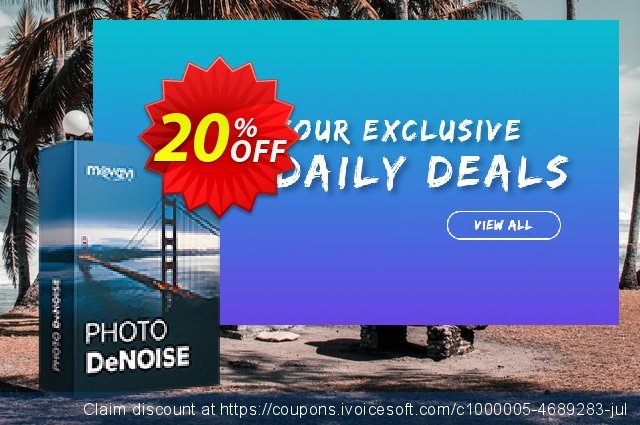 Movavi Photo DeNoise for Mac - Business discount 15% OFF, 2020 Student deals promo sales