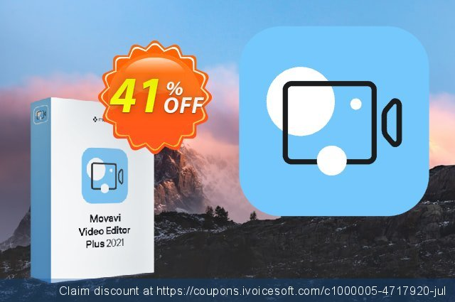 Movavi Video Editor Plus discount 41% OFF, 2021 Women Day offering sales