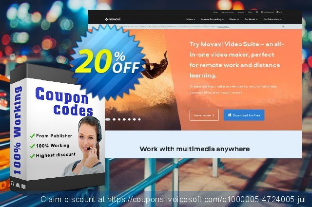 Movavi Photo Bundle: Photo Editor + Slideshow Maker for Mac (Business License)  훌륭하   세일  스크린 샷