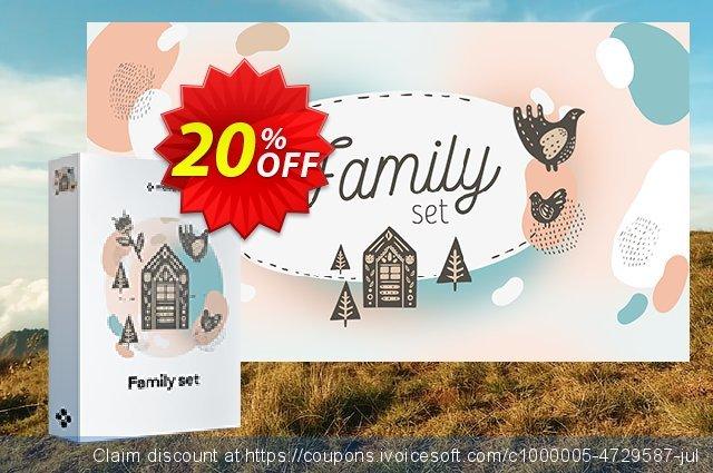 Movavi Family Set discount 20% OFF, 2020 4th of July offering sales