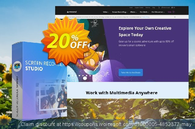 Movavi Screen Recorder Studio (1 year)  대단하   가격을 제시하다  스크린 샷