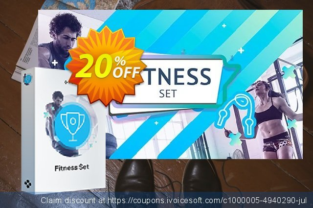 Movavi Fitness Set discount 20% OFF, 2020 Back to School deals offering sales