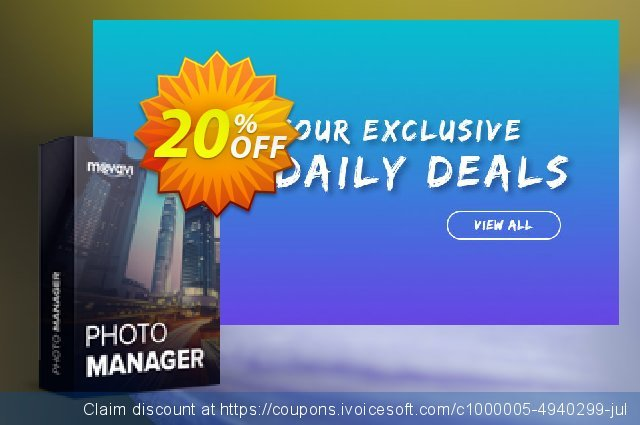 Movavi Photo Manager discount 20% OFF, 2020 Exclusive Teacher discount offering sales