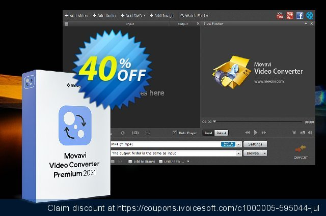 Movavi Video Converter discount 15% OFF, 2019 Christmas discounts