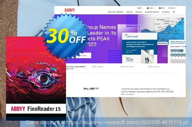 ABBYY FineReader 14 Corporate discount 15% OFF, 2019 Black Friday promo