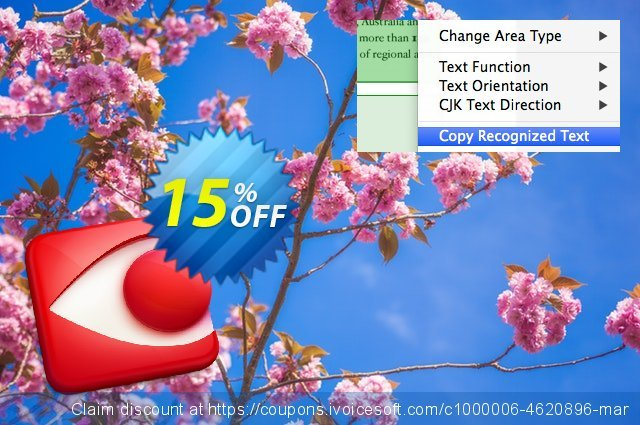 ABBYY FineReader Pro for Mac discount 10% OFF, 2019 Summer offering sales