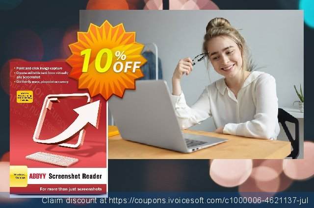 ABBYY Screenshot Reader discount 10% OFF, 2019 Father's Day promo sales
