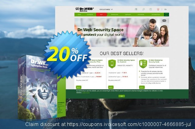 Dr.Web Universal Bundle Enterprise 5-50 PC Up To 3 years discount 20% OFF, 2021 World Day of Music promotions. Dr.Web Universal Bundle 5-50 PC Up To 3 years imposing deals code 2021