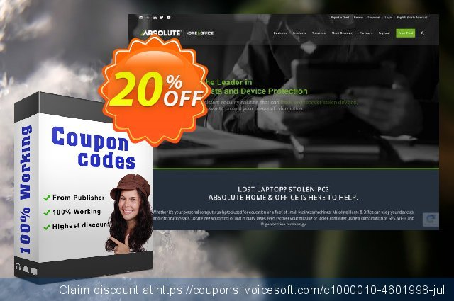 Absolute Home and Office - Premium discount 30% OFF, 2019 Halloween promo