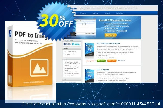 Ahead PDF to Image Converter discount 30% OFF, 2021 New Year's Weekend offer