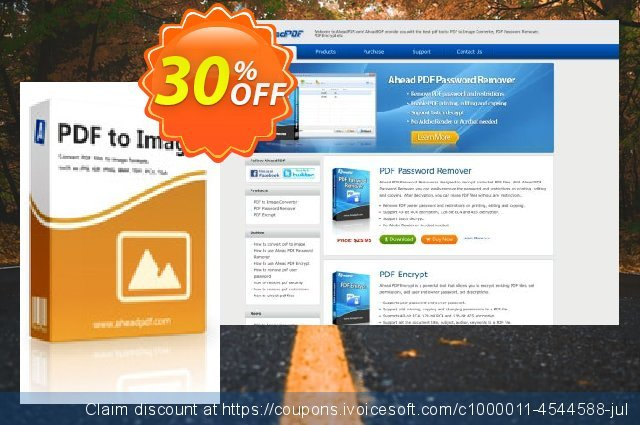 Ahead PDF to Image Converter - Multi-User License (5 Users) discount 30% OFF, 2021 Spring discount