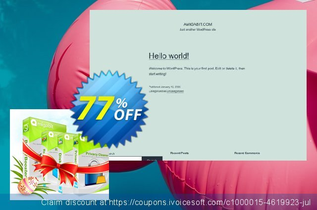 Amigabit Christmas Gift Pack discount 77% OFF, 2021 World Bicycle Day offering sales. Save $160