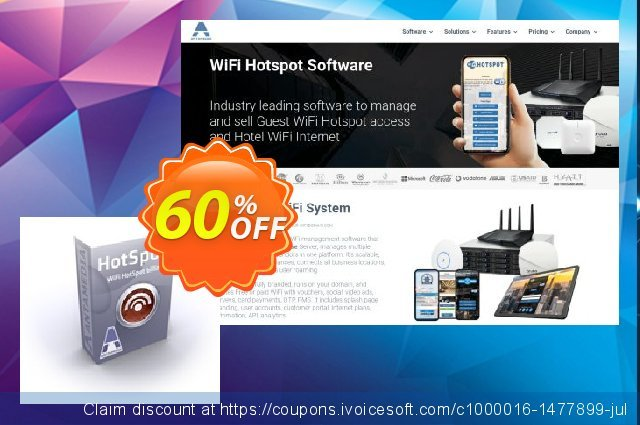 Antamedia HotSpot Software - Lite Edition discount 60% OFF, 2021 Happy New Year promo