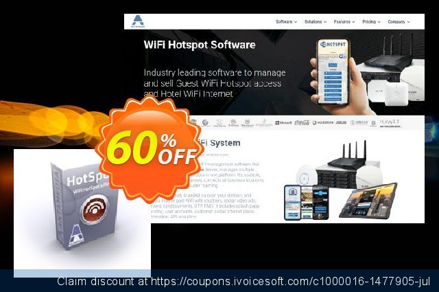 Antamedia HotSpot Software - Premium Edition discount 21% OFF, 2019 Halloween offering discount