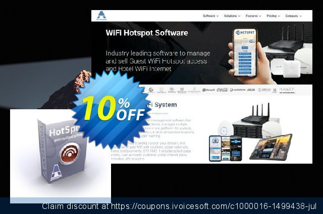 Antamedia HotSpot - Upgrade Standard to Premium Edition discount 10% OFF, 2021 Happy New Year deals