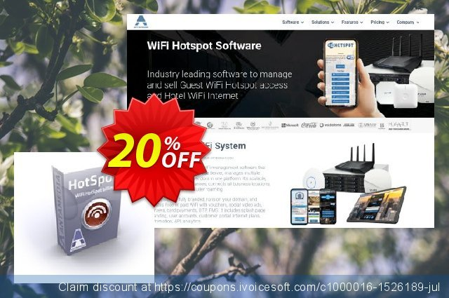 Special Bundle - Antamedia HotSpot - Standard Edition & HotSpot Operator License discount 20% OFF, 2021 New Year's Day sales