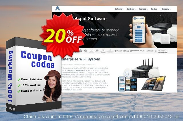 Special Bundle - Antamedia Hotspot software & Antamedia Print Manager & Internet Cafe software 最佳的 产品销售 软件截图
