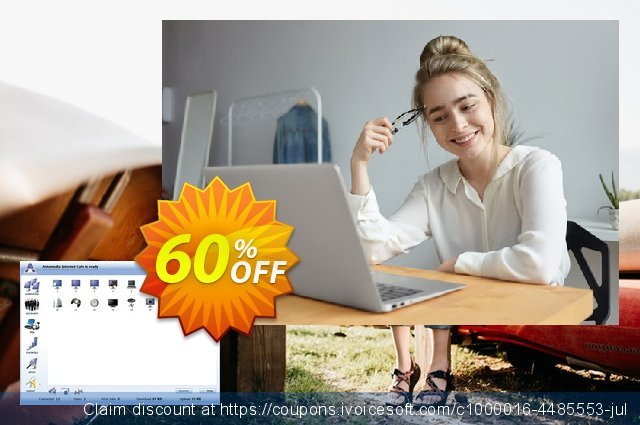 Antamedia Internet Cafe Lite - Server with 5 Clients discount 60% OFF, 2021 January sales