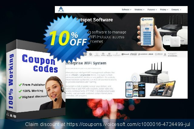 Antamedia Cloud System for 500 concurrent users 激动的 促销销售 软件截图