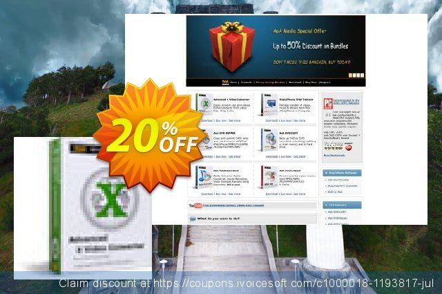 Advanced X Video Converter discount 20% OFF, 2020 Halloween offering sales