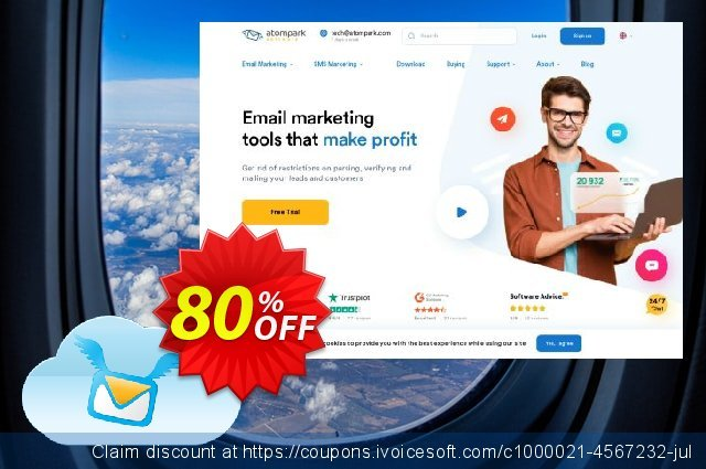 Atomic Email Service Subscription 500  신기한   촉진  스크린 샷