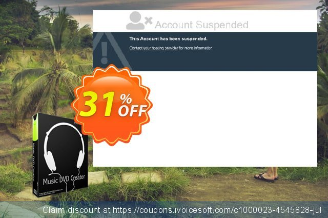 Music DVD Creator discount 31% OFF, 2020 College Student deals offering sales
