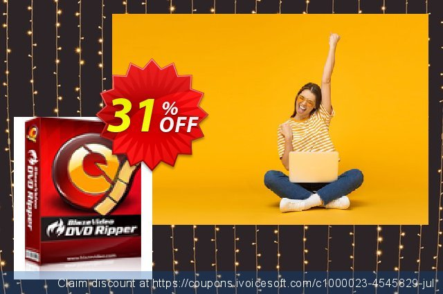BlazeVideo DVD Ripper discount 31% OFF, 2020 College Student deals promo sales