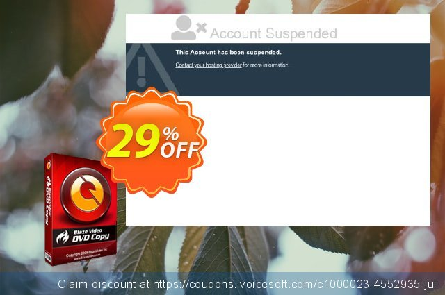 BlazeVideo DVD Copy discount 29% OFF, 2020 Back to School offer promo sales
