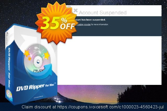 BlazeVideo DVD Ripper for MAC discount 35% OFF, 2020 Halloween offering sales