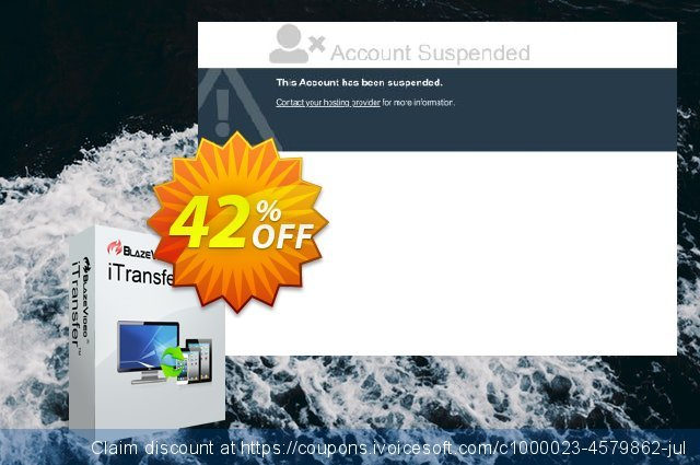 BlazeVideo iTransfer discount 42% OFF, 2020 4th of July offering sales