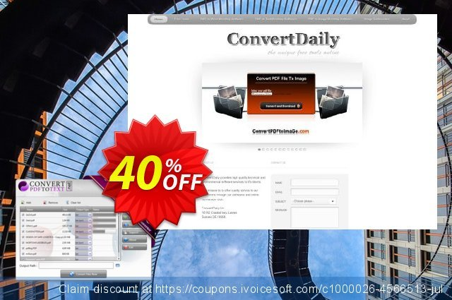 Convert PDF to Text Desktop Software discount 40% OFF, 2019 Back to School offer promo sales