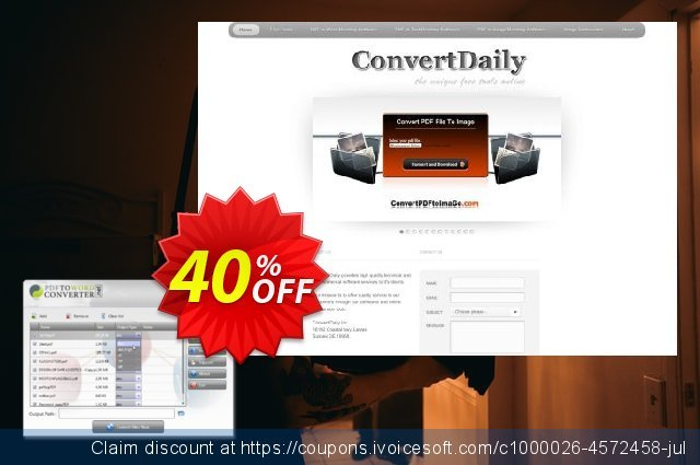 PDF to Word Converter Software discount 40% OFF, 2019 Thanksgiving promo sales