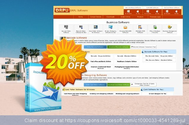 DRPU Bulk SMS Software for Android Mobile Phones discount 20% OFF, 2021 Easter day deals