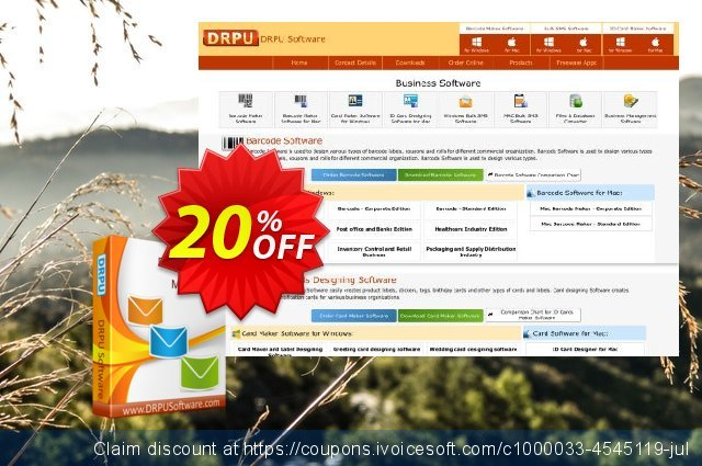 DRPU Bulk SMS Software (Multi-Device Edition) discount 20% OFF, 2021 Spring offering sales