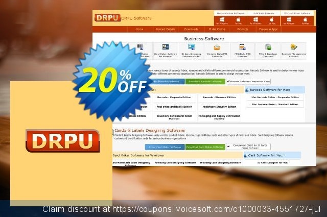 DRPU Mac Log Manager  - 5 Machine Licence discount 20% OFF, 2020 Labour Day offering sales