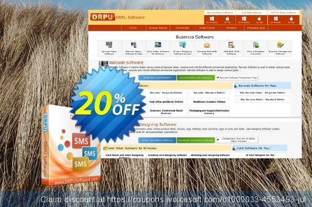 DRPU Bulk SMS Software - Multi USB Modem discount 20% OFF, 2020 Father's Day offering sales