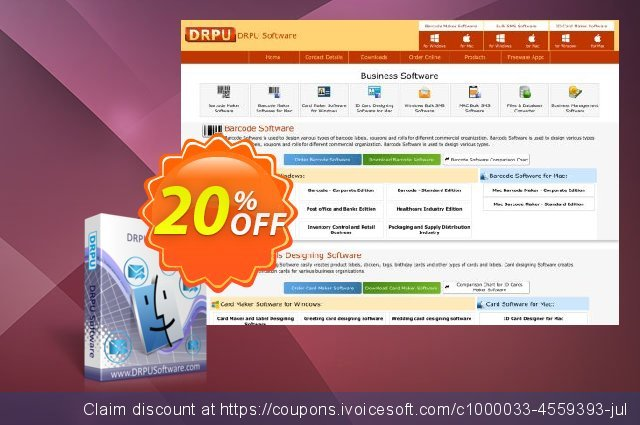 DRPU MAC Bulk SMS Software discount 20% OFF, 2020 Happy New Year offering sales