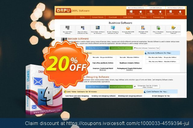 DRPU MAC Bulk SMS Software for USB Modems discount 20% OFF, 2021 Mother Day sales. Wide-site discount 2021 DRPU MAC Bulk SMS Software for USB Modems