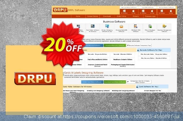 DRPU Bulk SMS Software - All in one Windows Marketing Bundle 惊人的 产品销售 软件截图