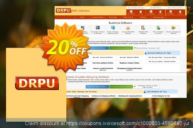 DRPU Bulk SMS Software - All in one Mac Marketing Bundle 最 产品销售 软件截图