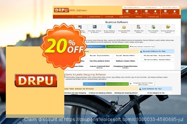 DRPU Bulk SMS Software - Intellinomic Bundle for Windows discount 20% OFF, 2020 Labour Day offering sales