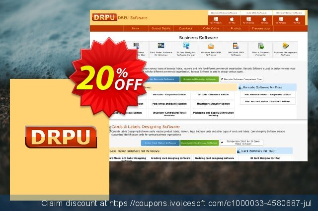 DRPU Bulk SMS Software Professional - 25 User License discount 20% OFF, 2020 Happy New Year offering sales